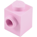 LEGO Bright Pink Brick 1 x 1 with Stud on 1 Side (87087)