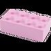 LEGO Bright Pink Brick 2 x 4 (3001)