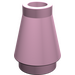 LEGO Bright Pink Cone 1 x 1 without Top Groove (4589)