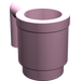 LEGO Bright Pink Mug