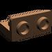 LEGO Brown Bracket 1 x 2 - 1 x 2 Up
