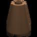 LEGO Brown Cone 2 x 2 x 2 (Open Stud) (3942)
