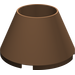 LEGO Brown Cone 4 x 4 x 2 Hollow Studless (4742)