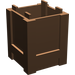 LEGO Brown Container 2 x 2 x 2 Crate