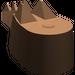 LEGO Brown Crocodile Tail (6028)