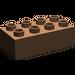 LEGO Brown Duplo Brick 2 x 4 (3011)