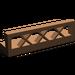 LEGO Brown Fence Lattice 1 x 4 x 1 (3633)