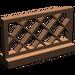 LEGO Brown Fence Lattice 1 x 4 x 2 (3185)