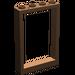 LEGO Braun Frame 1 x 4 x 5 mit hohlen Bolzen (2493)