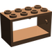 LEGO Brown Hose Reel 2 x 4 x 2 Holder (4209)