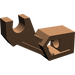 LEGO Brown Mechanical Arm with Thin Support