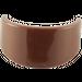 LEGO Brown Minifig Helmet Visor (2447)