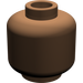 LEGO Brown Plain Head (Recessed Solid Stud) (3626)