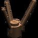 LEGO Brown Plant Stalk (3741)
