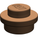 LEGO Brown Plate 1 x 1 Round (6141)