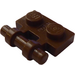 LEGO Brown Plate 1 x 2 with Handle (Open Ends) (2540)