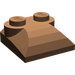 LEGO Brown Slope 2 x 2 Curved with Curved End