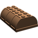 LEGO Brown Trunk Lid 4 x 6