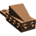 LEGO Brown Wedge 2 x 3 with Brick 2 x 4 Side Studs and Plate 2 x 2 (2336)