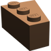 LEGO Brown Wedge 3 x 2 Left (6565)