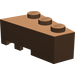 LEGO Brown Wedge 3 x 2 Right (6564)
