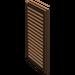 LEGO Brown Window 1 x 2 x 3 Shutter (3856)