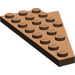 LEGO Brown Wing 4 x 8 Left with Underside Stud Notch (3933)