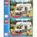 LEGO Camper Van Set 60057 Instructions