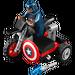 LEGO Captain America's Motorcycle  Set 30447