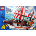 LEGO Captain Redbeard's Pirate Ship Set 7075