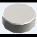 LEGO Chrome Silver Round Tile 1 x 1