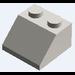LEGO Chrome Silver Slope 2 x 2 (45°)