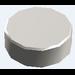 LEGO Chrome Silver Tile 1 x 1 Round
