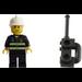 LEGO City Advent Calendar Set 7724-1 Subset Day 7 - Fireman and Radio
