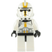 LEGO Clone Trooper Ep.3 with Yellow Markings and No Pauldron Minifigure