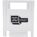 LEGO Container Box 2 x 2 x 2 Door with Slot with '3D PRINT' Sticker (4346)