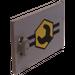 LEGO Container Cupboard 2 x 3 x 2 Door with Roadside Repair Logo (4533)
