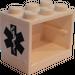 LEGO Cupboard 2 x 3 x 2 with EMT Star of Life Sticker (4532)