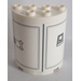 LEGO Cylinder 2 x 4 x 4 with SW Tower Pattern Sticker (6218)
