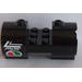 LEGO Cylinder 3 x 6 x 2 2/3 Horizontal with 'Jet Fuel' and Octan Logo Sticker (93168)