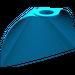 LEGO Dark Azure Standard Cape with Regular Starched Texture
