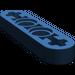 LEGO Dark Blue Beam 4 x 0.5 with Axle Hole each end