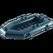 LEGO Dark Blue Boat Inflatable 12 x 6 x 1.333 Lower  (30086 / 75977)