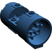 LEGO Dark Blue Cylinder 3 x 6 x 2 2/3 Horizontal Hollow Center Studs (30360)