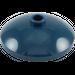 LEGO Dark Blue Dish 3 x 3 Inverted (43898)