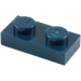 LEGO Dark Blue Plate 1 x 2 (3023)