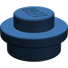 LEGO Dark Blue Round Plate 1 x 1 (6141)