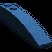 LEGO Dark Blue Slope Curved 6 x 1 (42022)