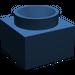 LEGO Dark Blue Support 2 x 2 x 11 Solid Pillar Base (6168)