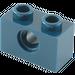 LEGO Dark Blue Technic Brick 1 x 2 with Hole (3700)